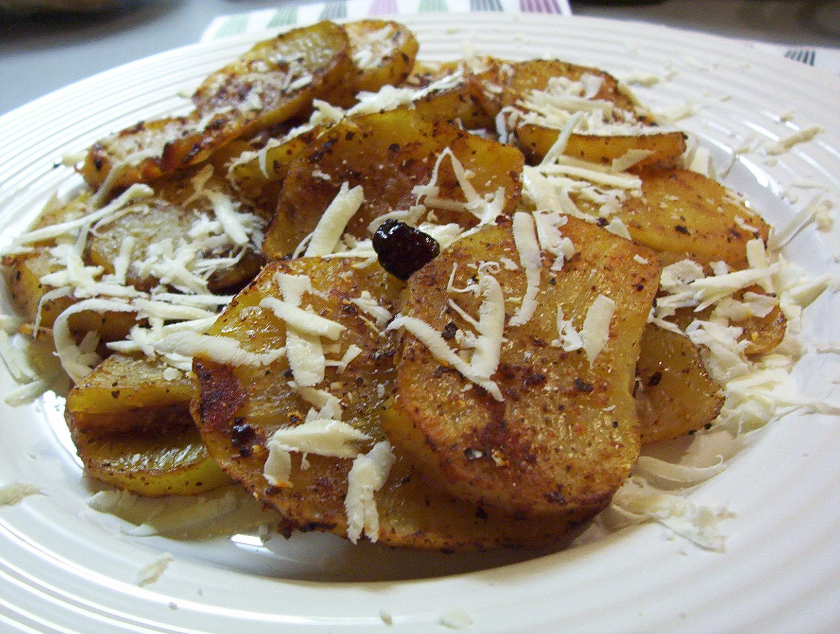 Pikantní bramborová kolečka