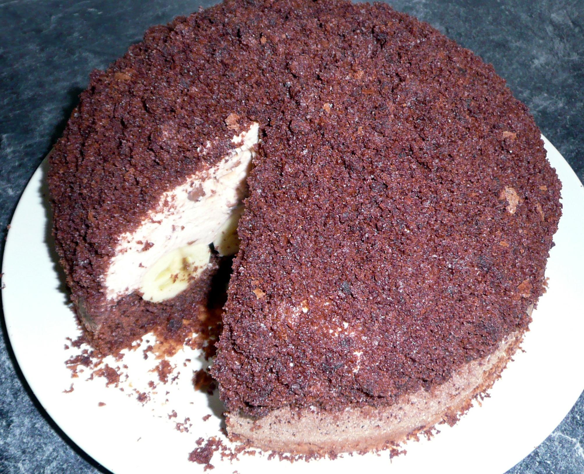 Domácí krtkův dort