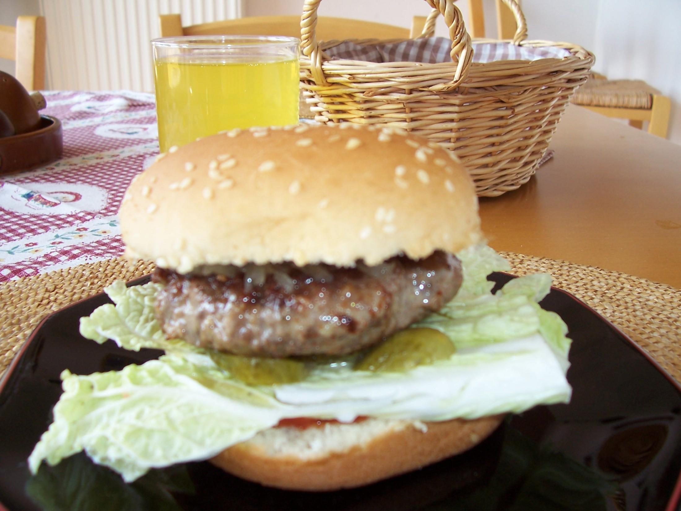 Fotografie receptu: Hamburger