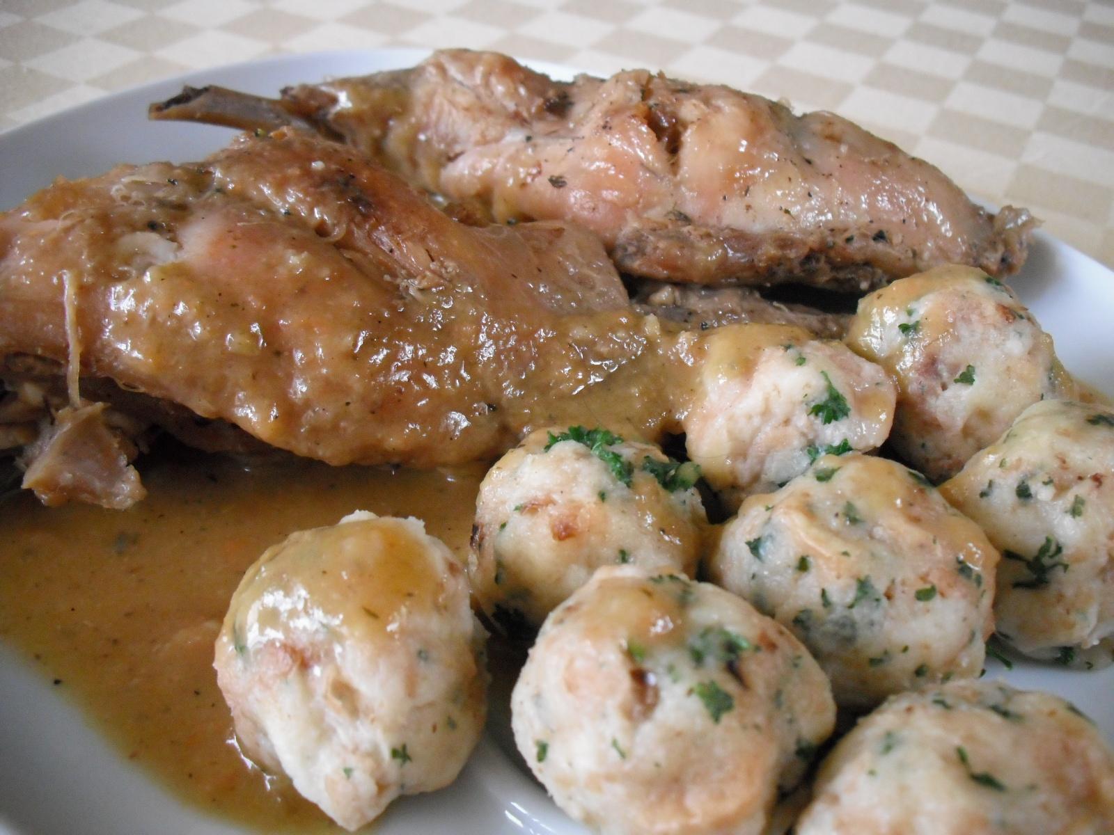 Fotografie receptu: Králík na jalovci