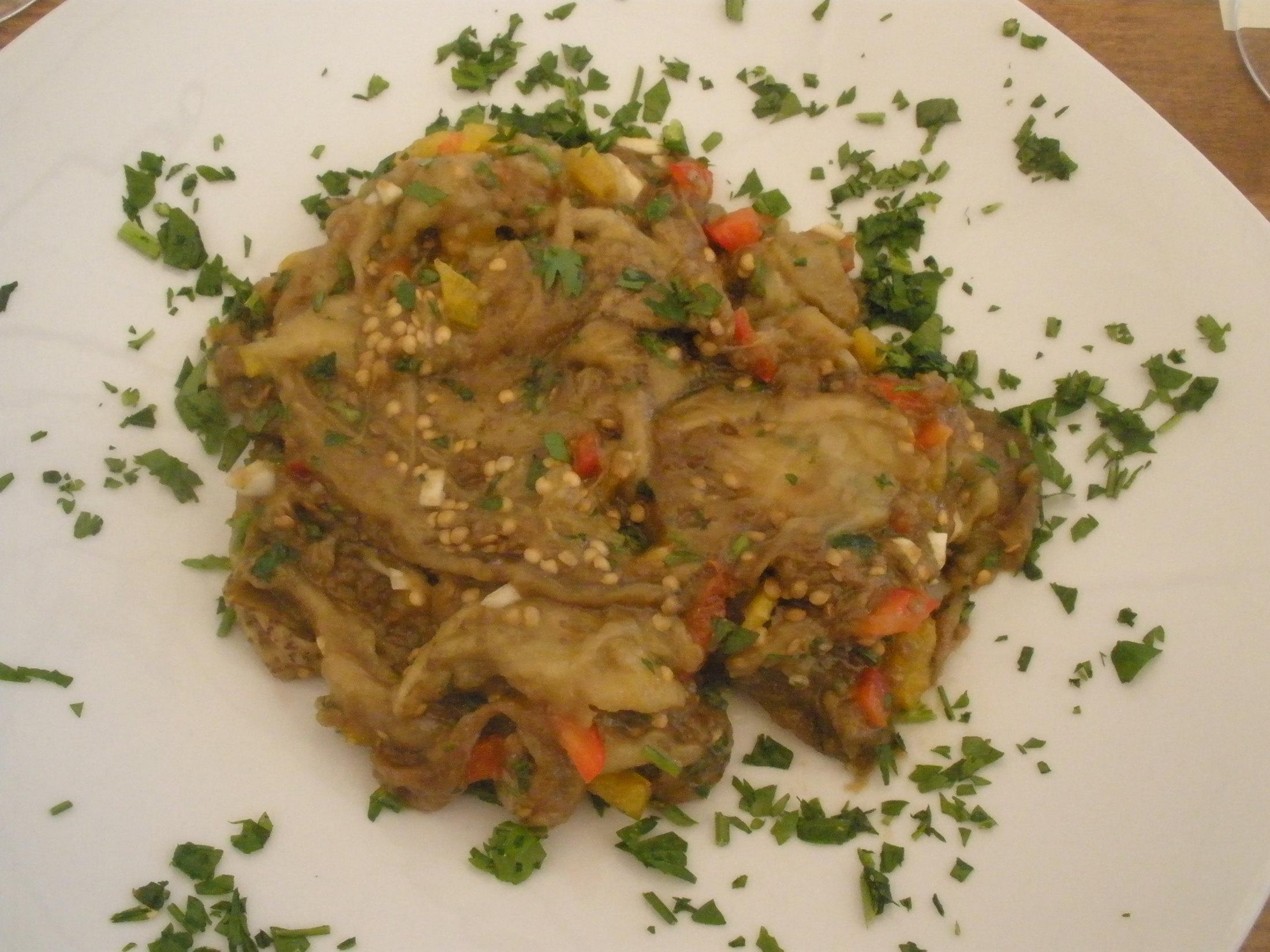 Řecký lilkový salát - Melitzanosalata