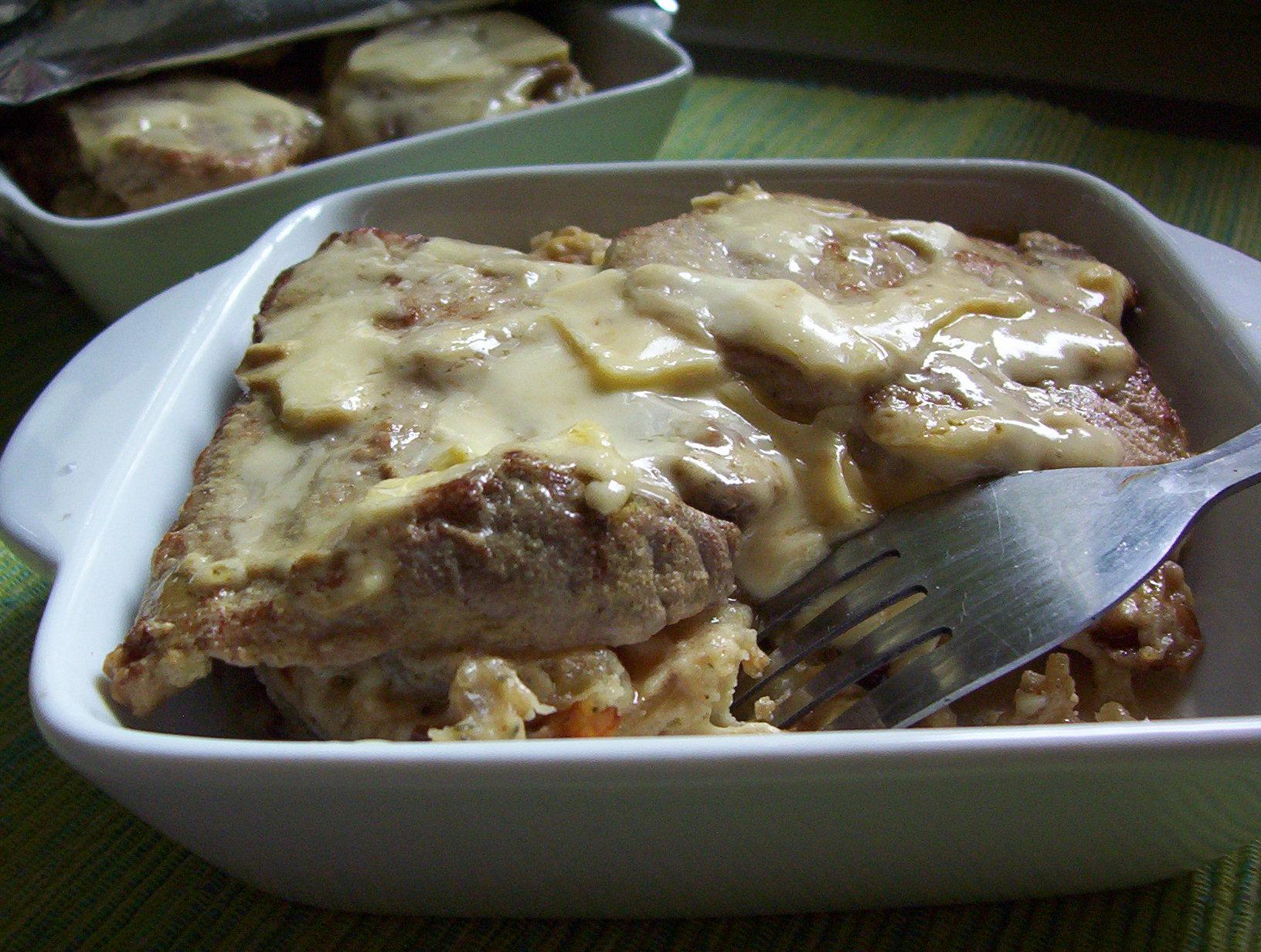 Vepřová kýta s brambory