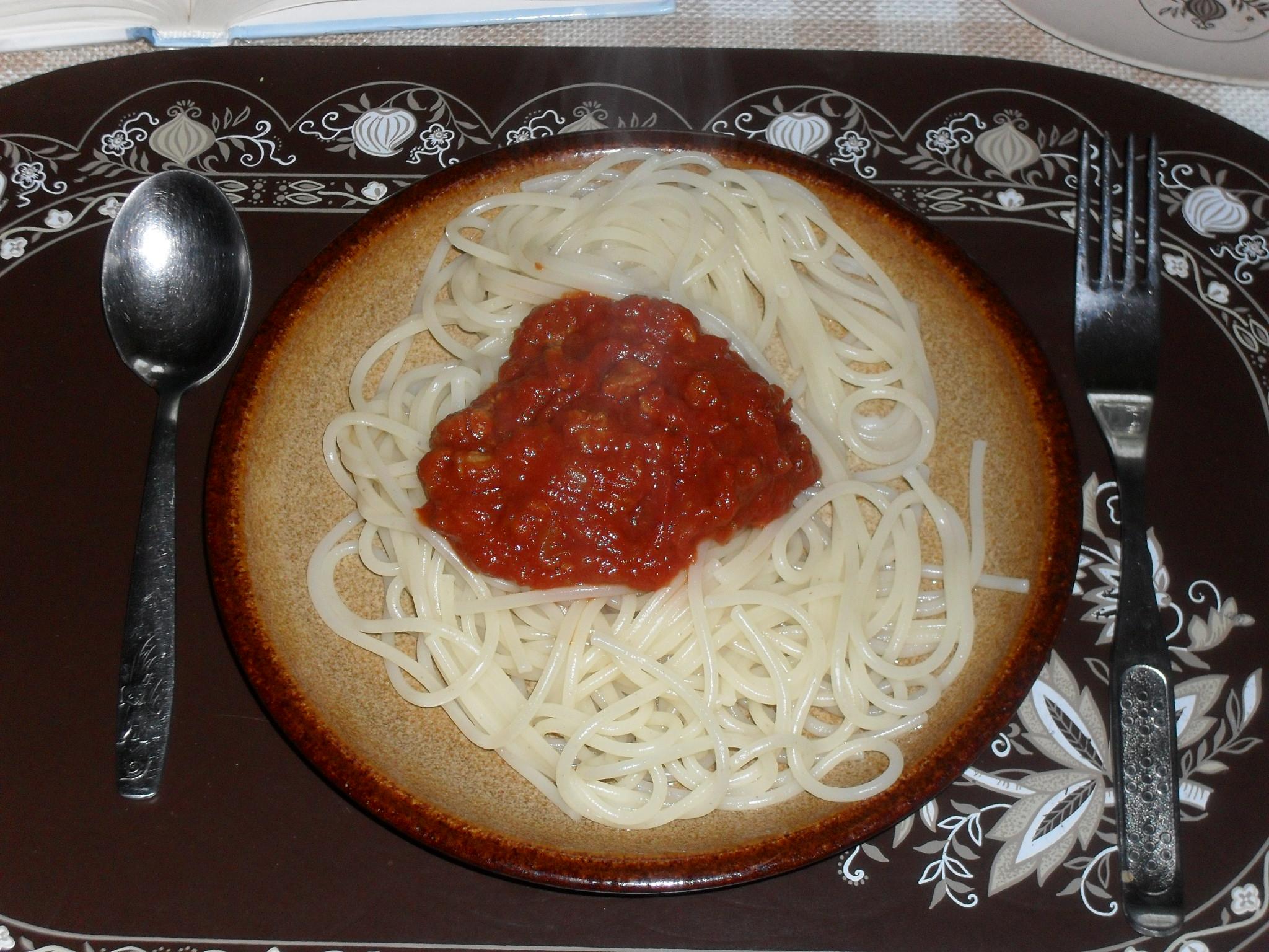 Falešné boloňské špagety