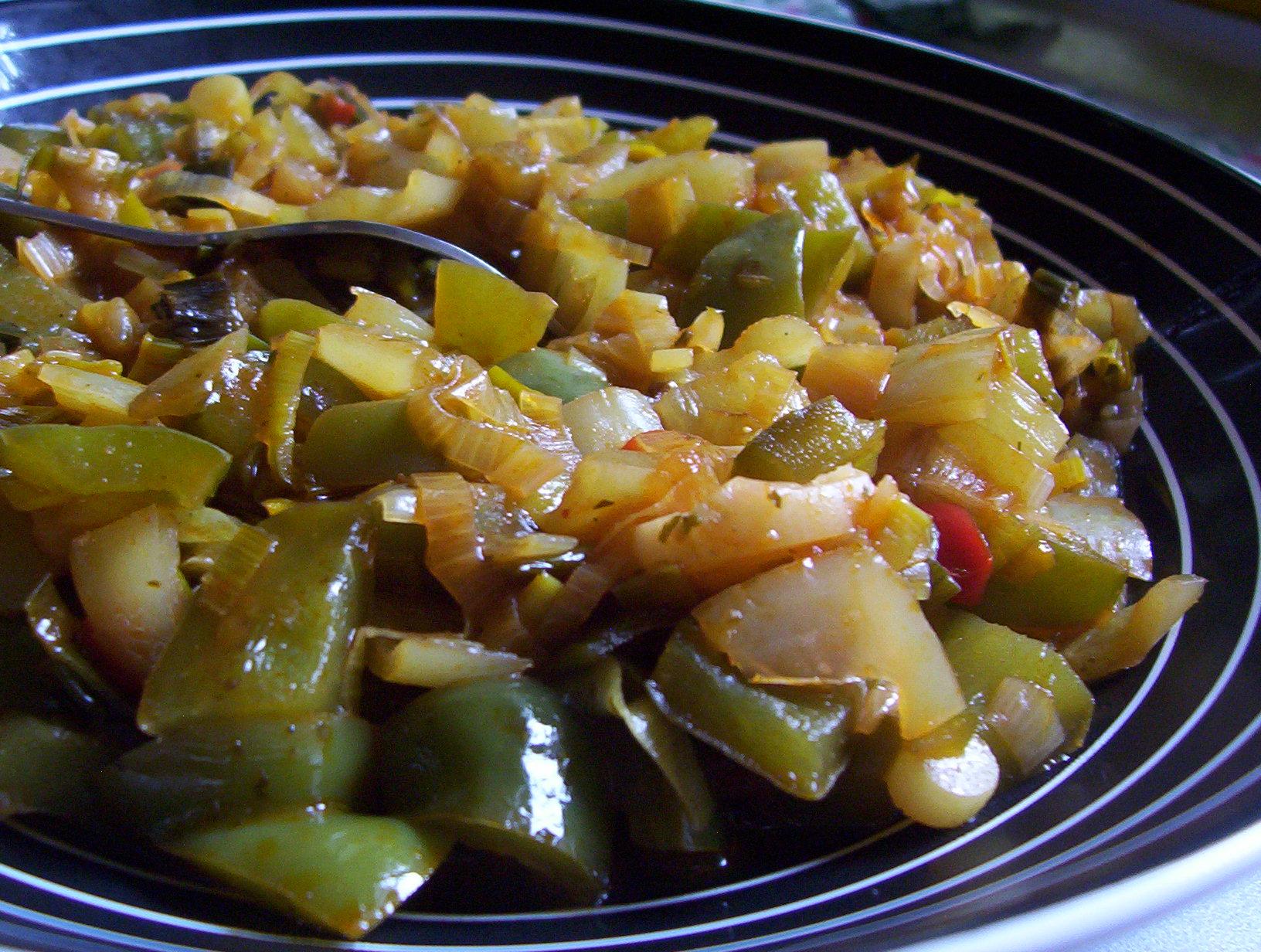 Dušená zeleninová příloha