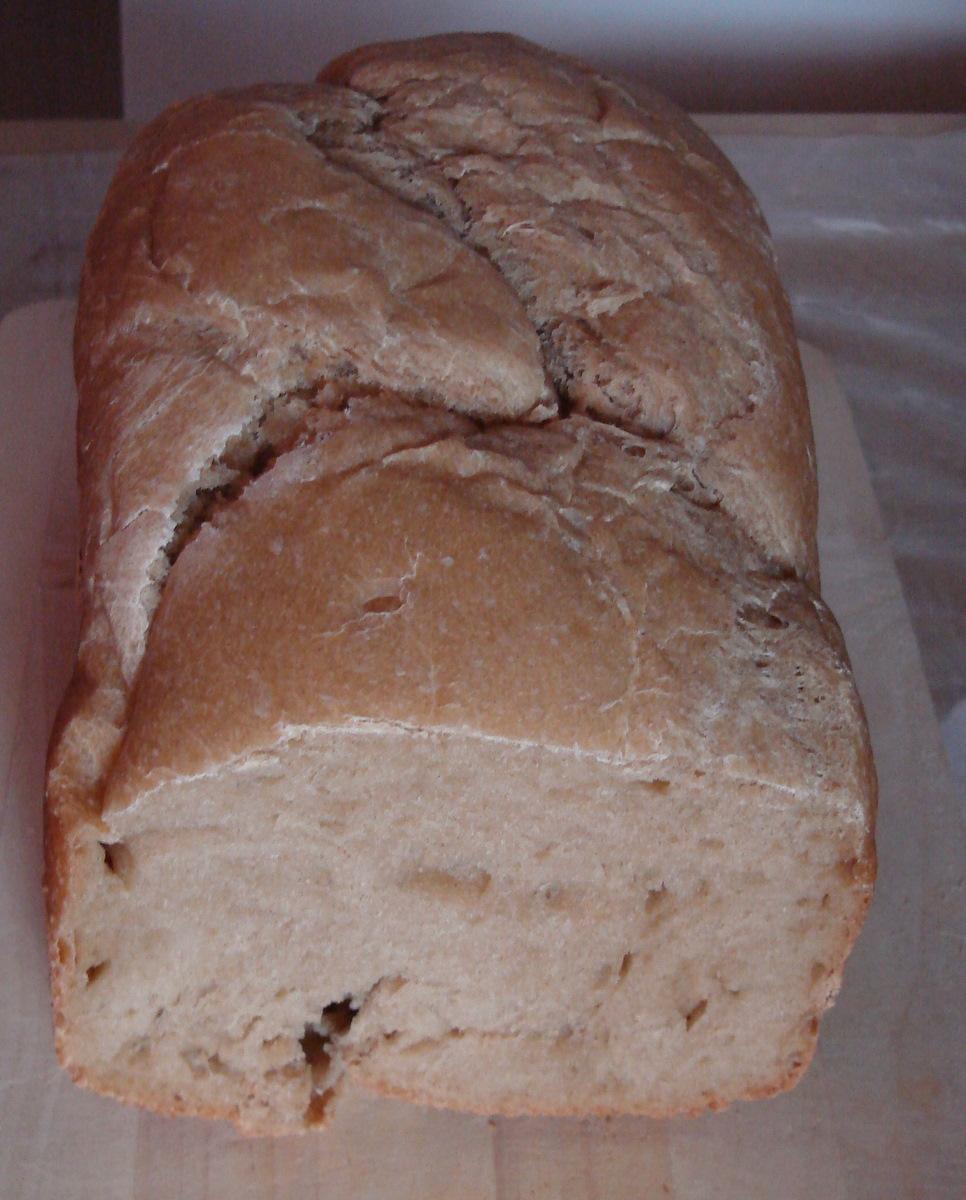 Pivní chléb s hořčicí