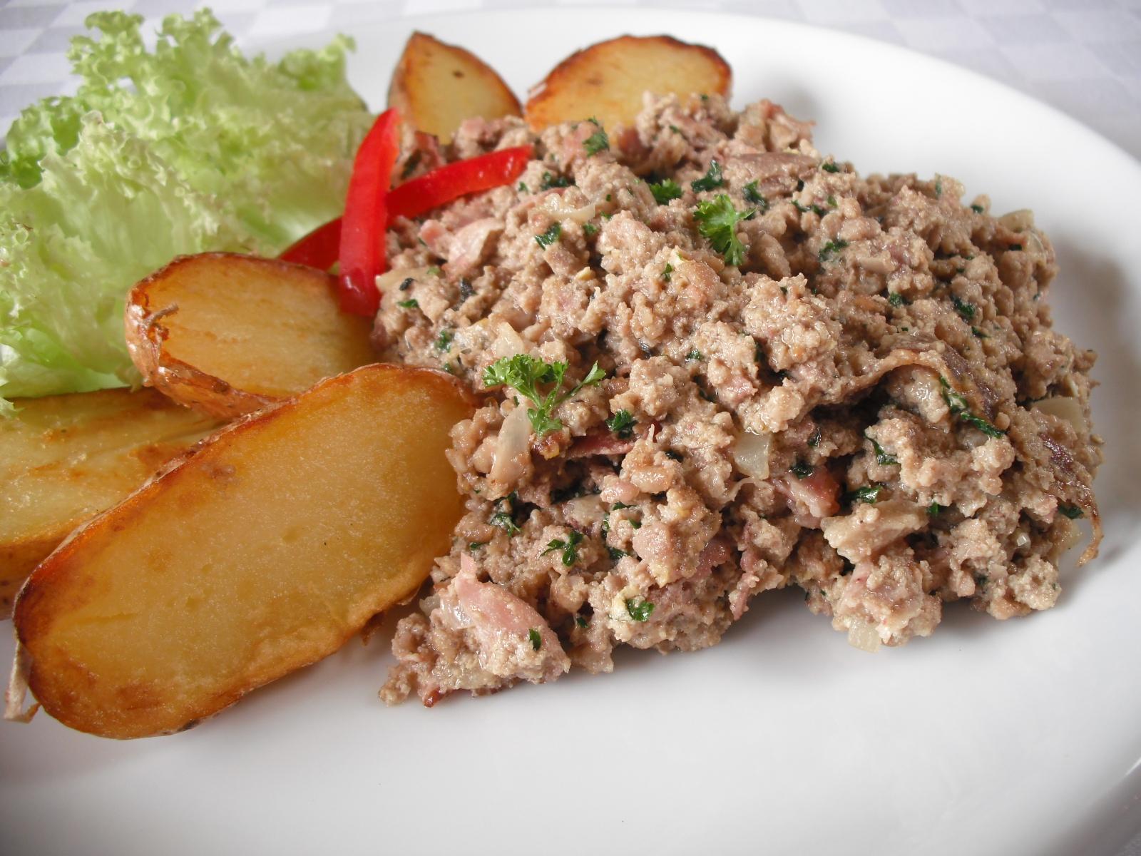 Fotografie receptu: Haše z hovězího masa