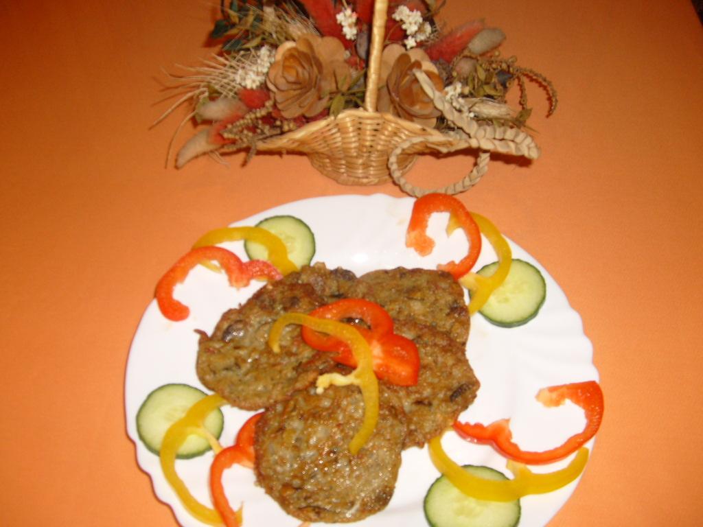 Fotografie receptu: Houbové bramboráčky