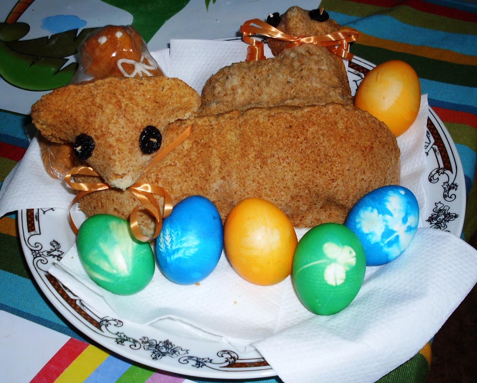 Fotografie receptu: Osvědčený velikonoční beránek
