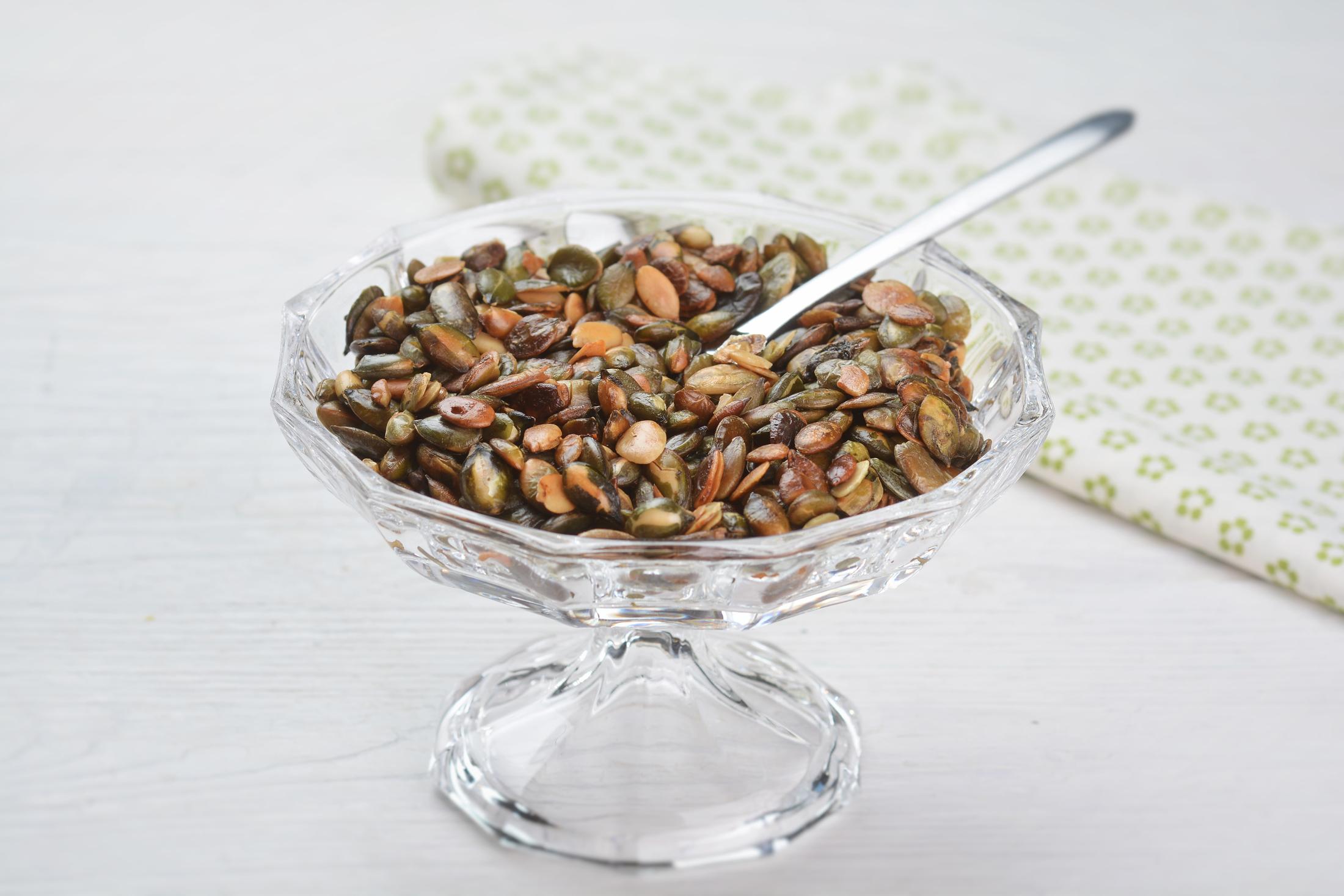 Pražená dýňová semínka