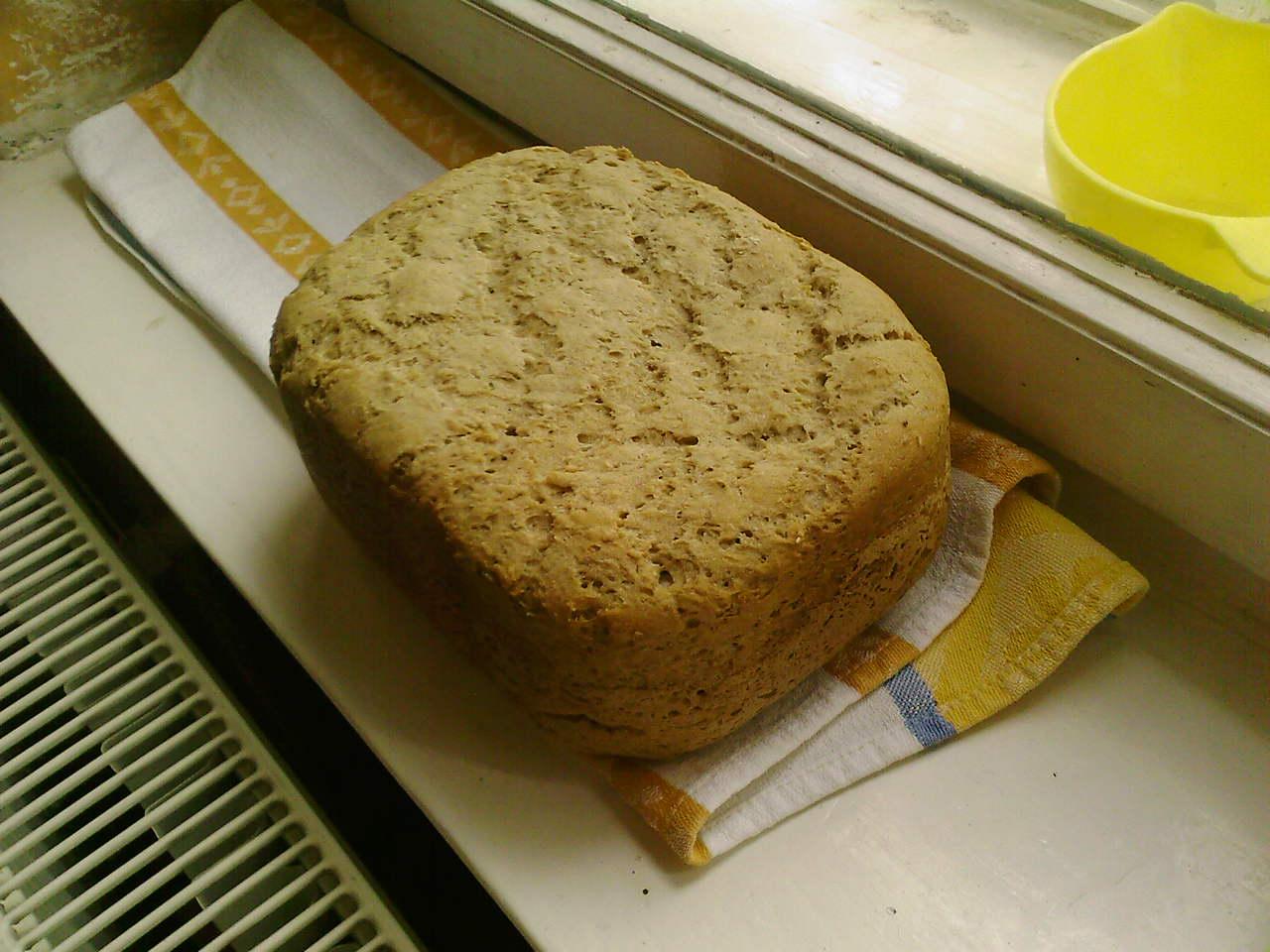 Chléb z žitné mouky