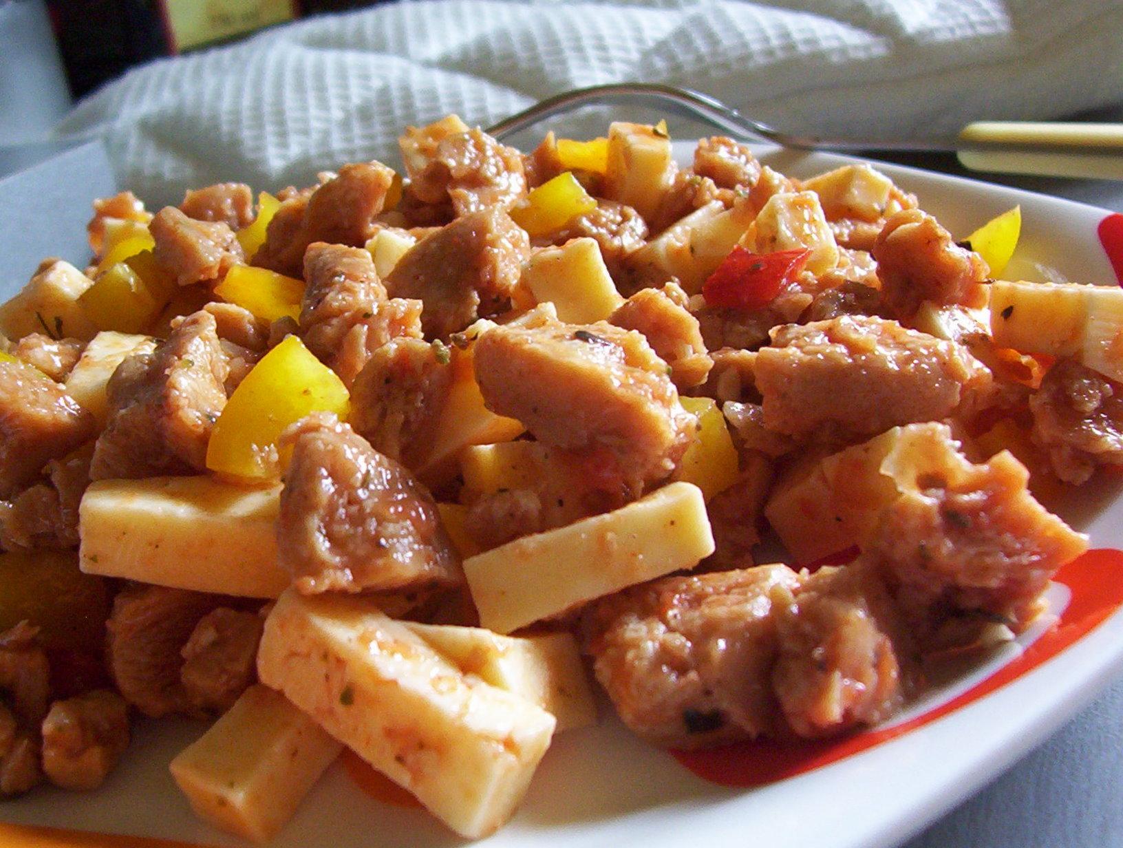 Pikantní salát ze sóji