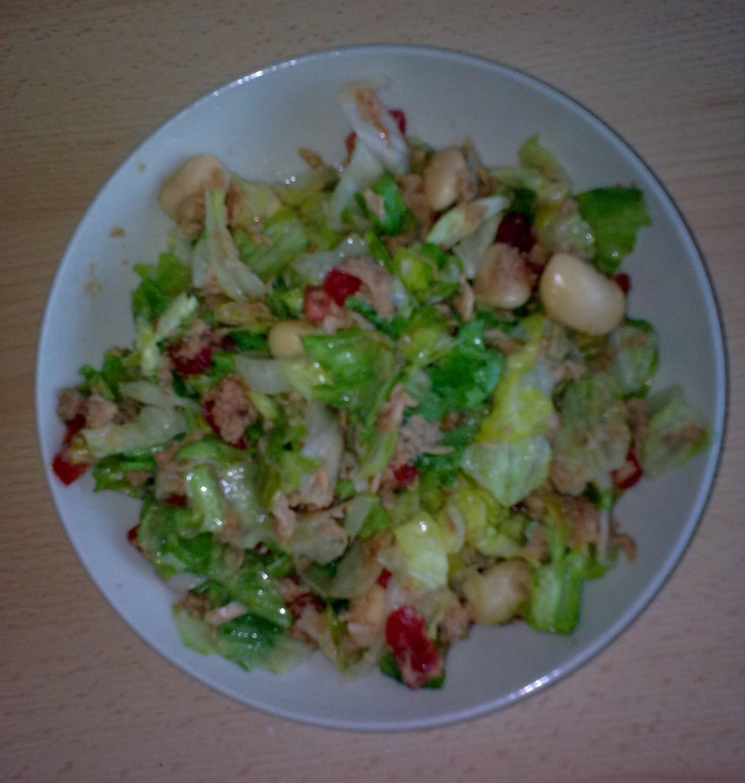 Velký tuna salát