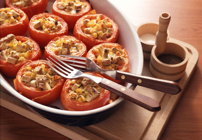 Fotografie receptu: Rajčata po provensálsku