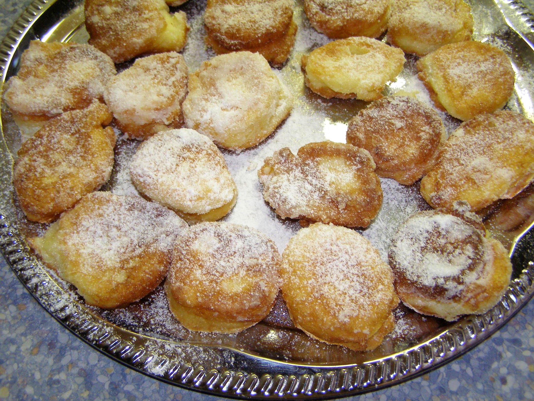 Tvarohové smažené koláčky