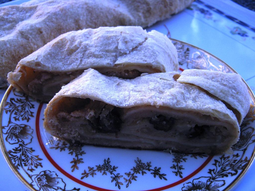 Fotografie receptu: Sváteční štrúdl
