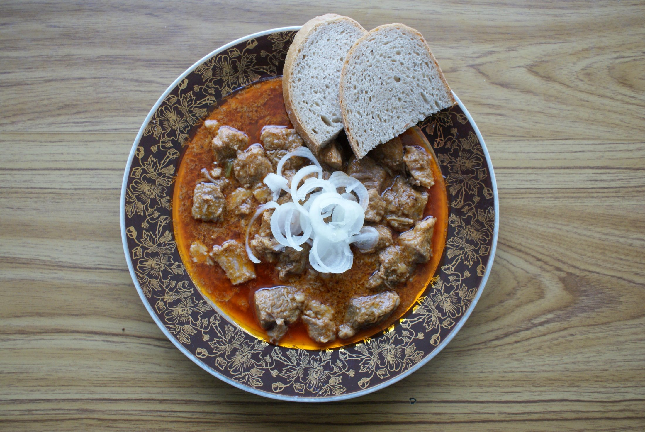 Fotografie receptu: Vepřový gulášek