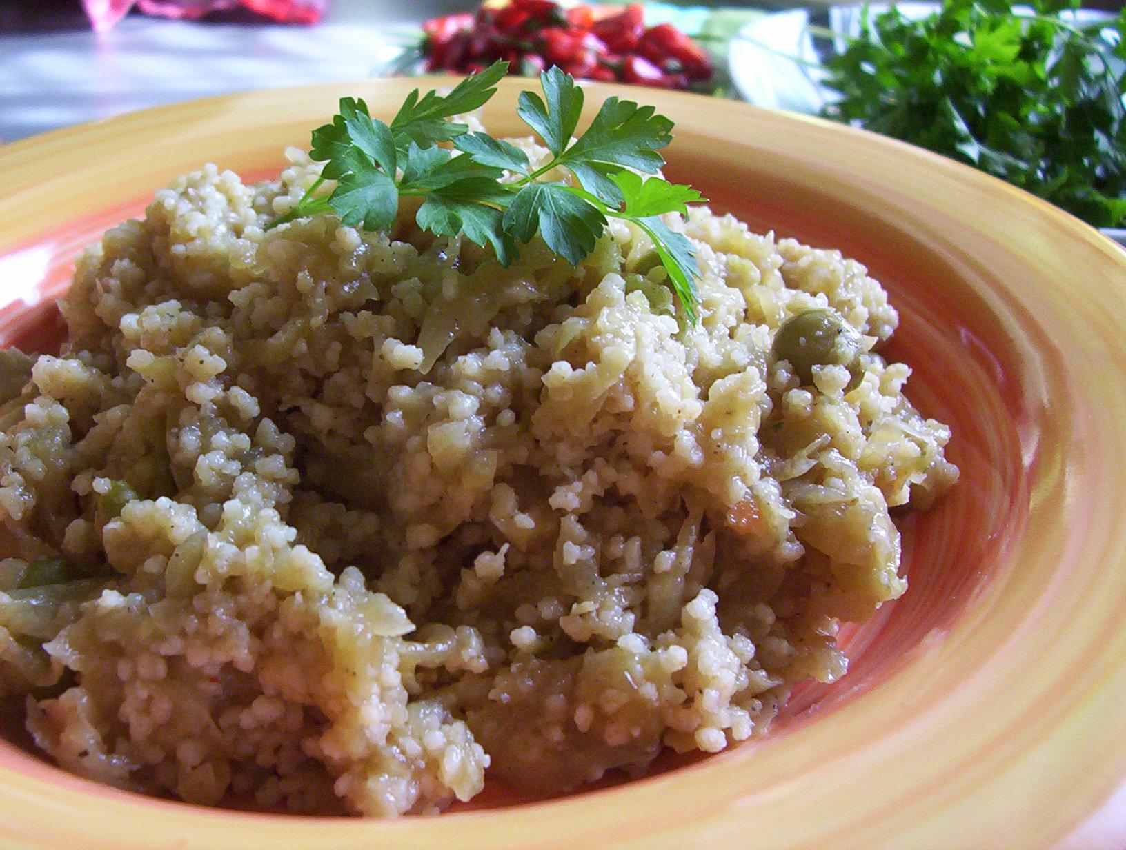 Fotografie receptu: Kuskus s cuketou