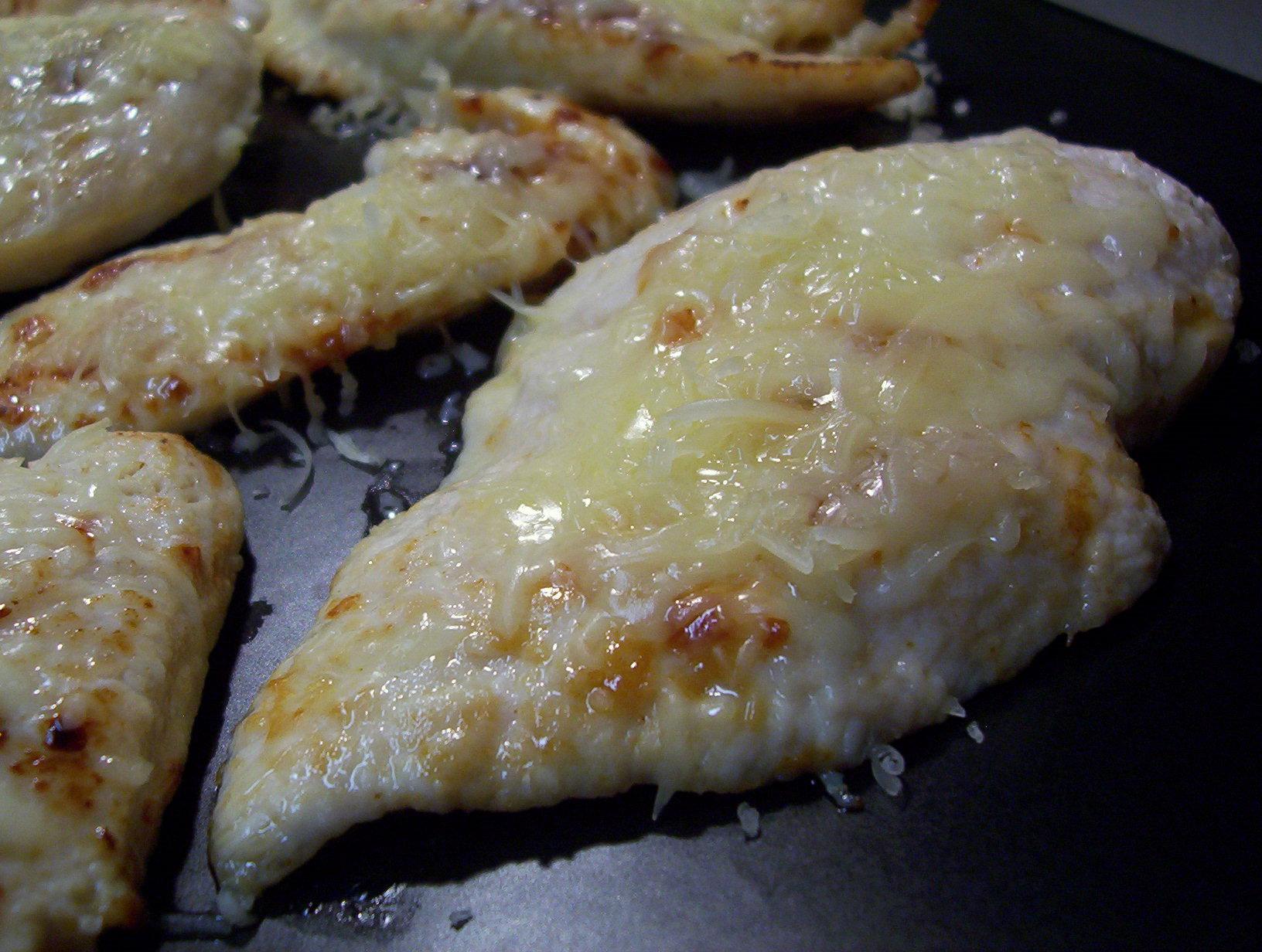 Fotografie receptu: Máslové kuřecí se sýrem