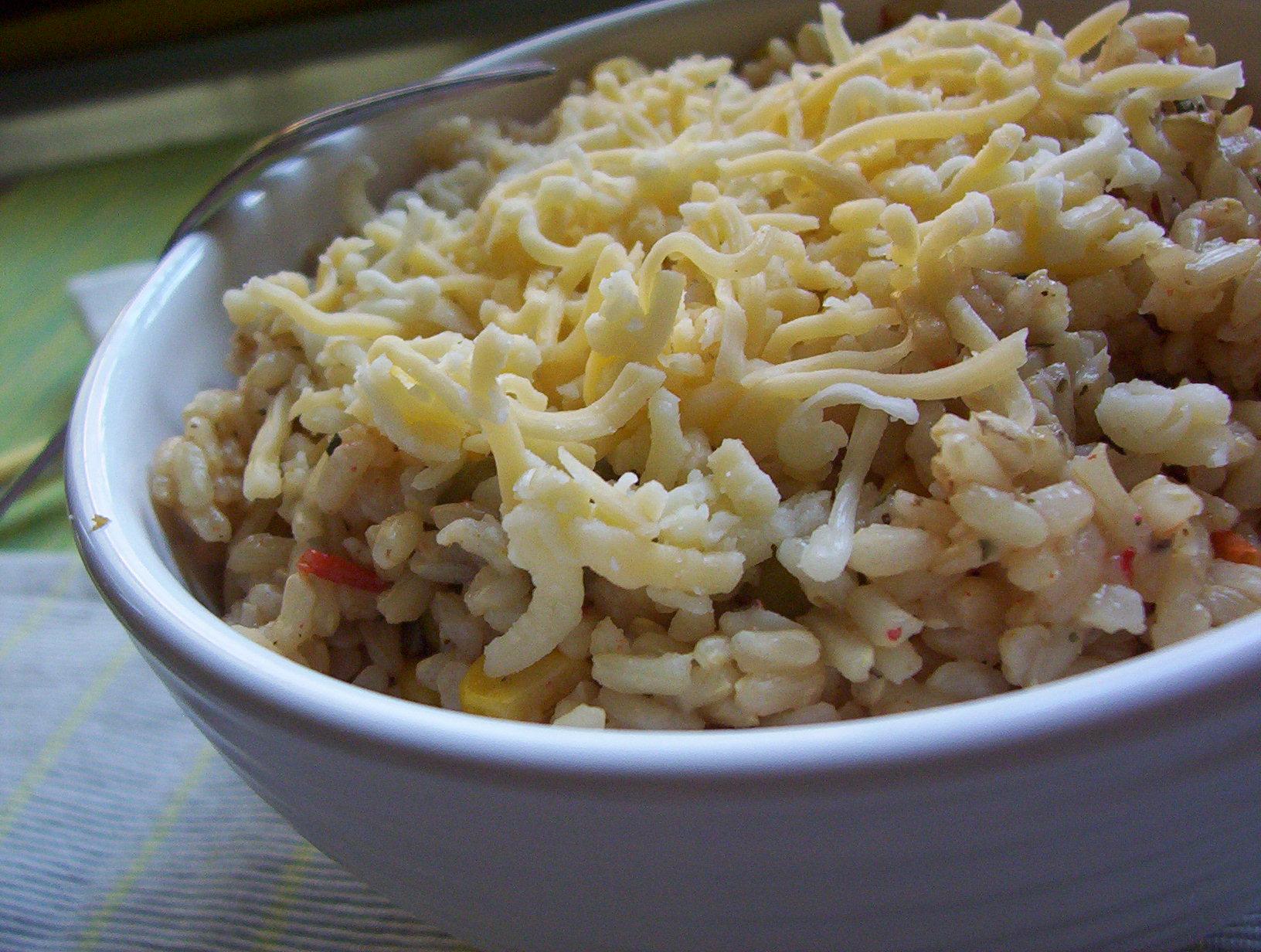 Pikantní rizoto s mexickou zeleninou