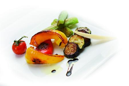 Středomořská grilovaná zelenina