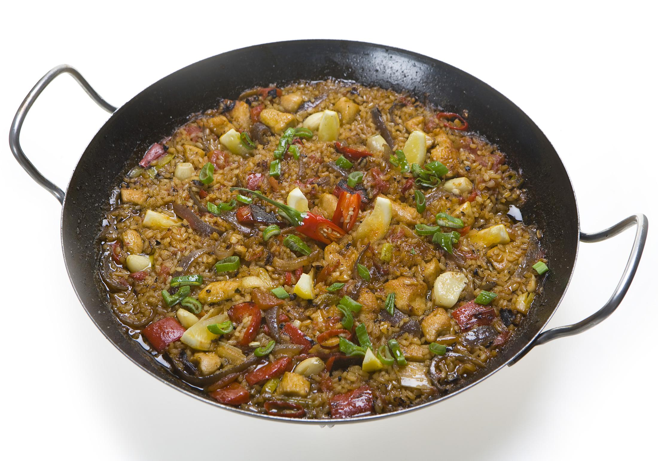 Fotografie receptu: Paella s kuřetem