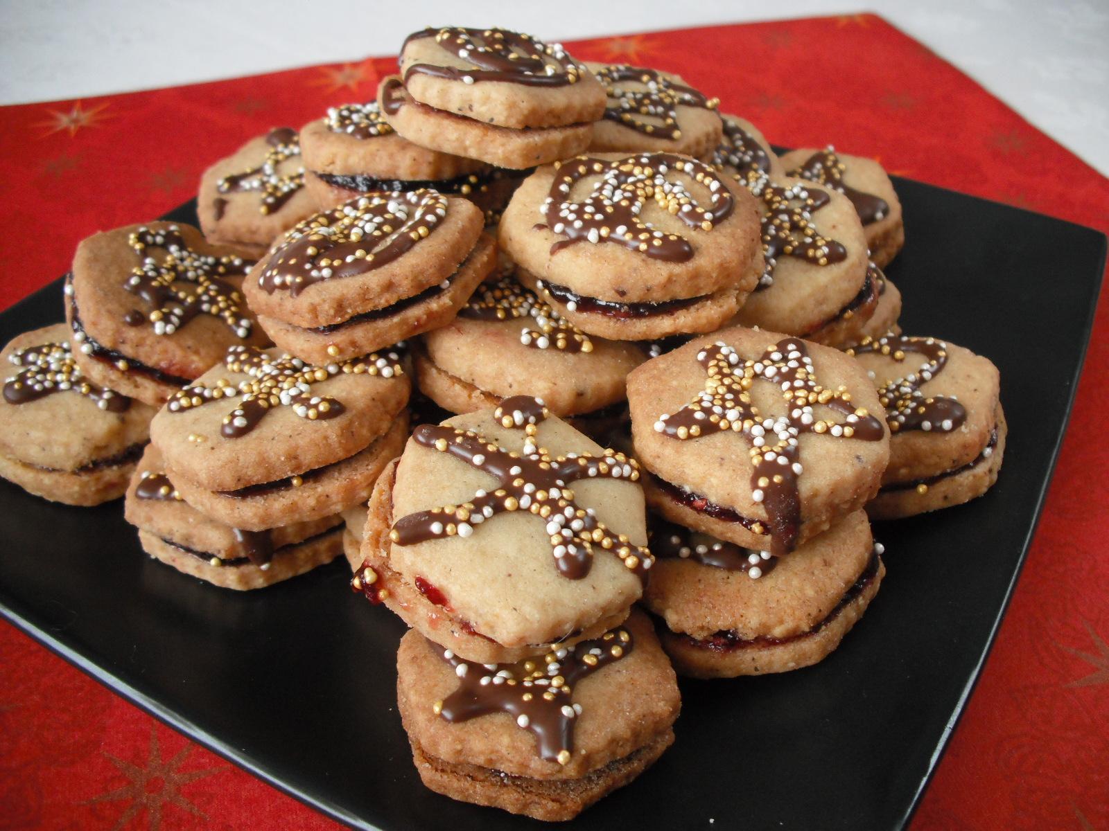Mandlovo-skořicové sušenky