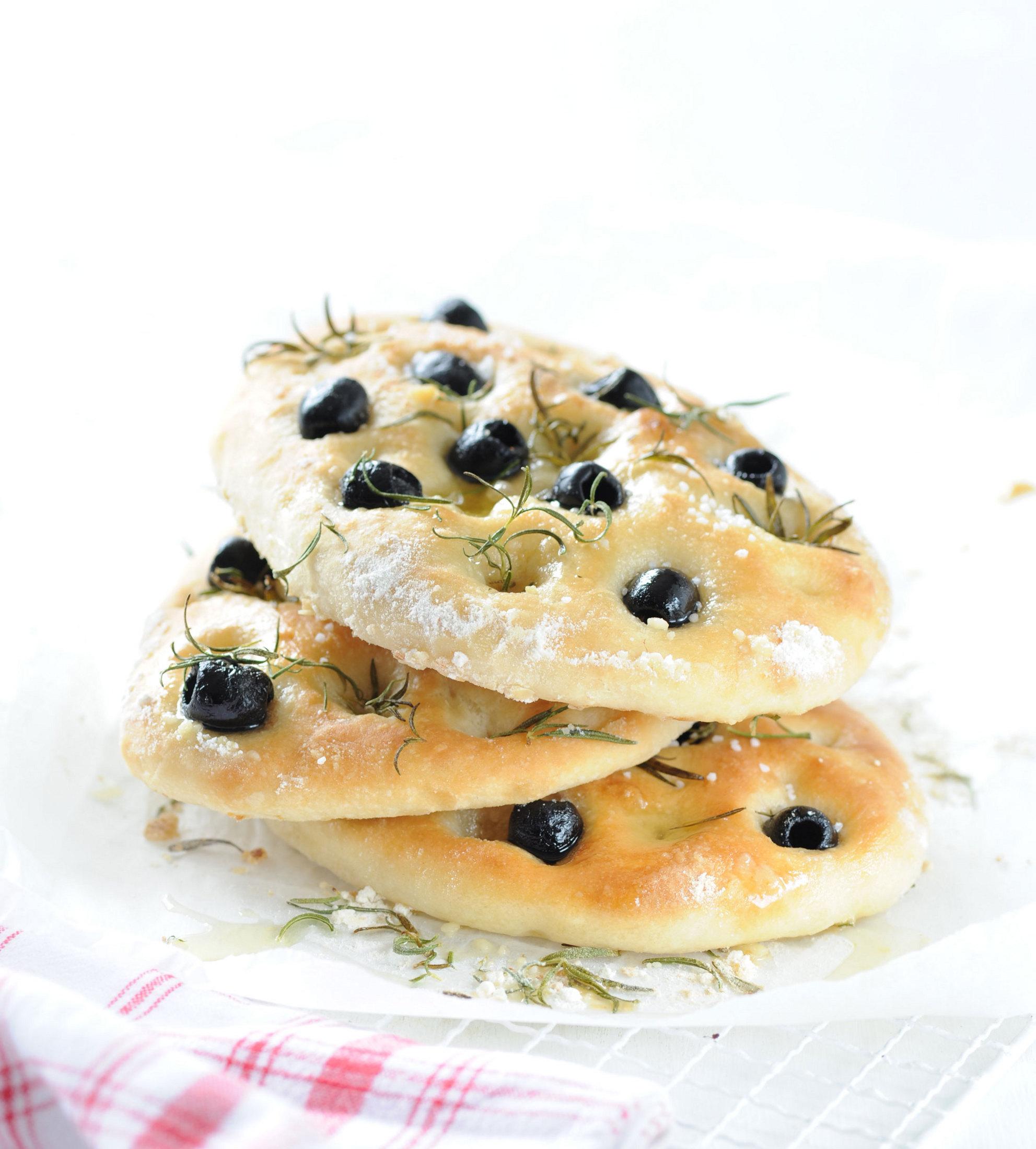 Focaccia - olivová placka