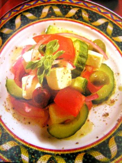 Fotografie receptu: Řecký salát