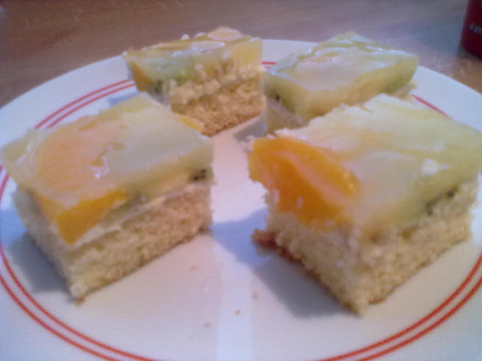 Fotografie receptu: Skvělé ovocné řezy