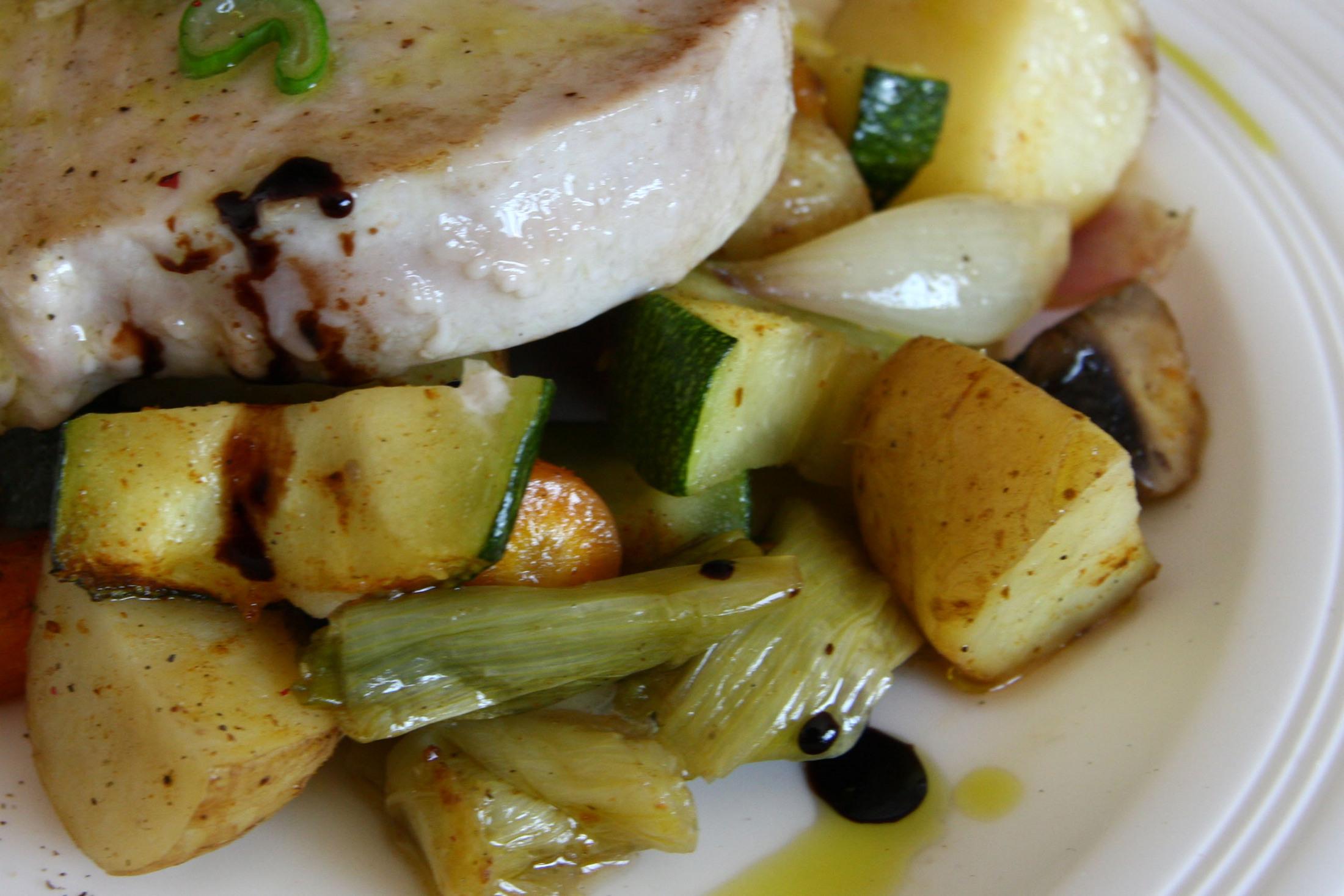 Fotografie receptu: Pečená jarní zelenina