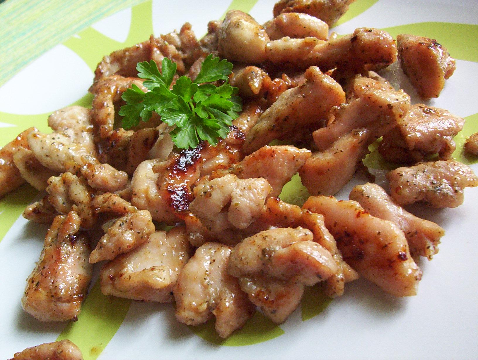 Fotografie receptu: Medové kuřecí nudličky