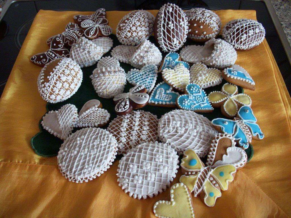 Fotografie receptu: Velikonoční perníčky od Marušky