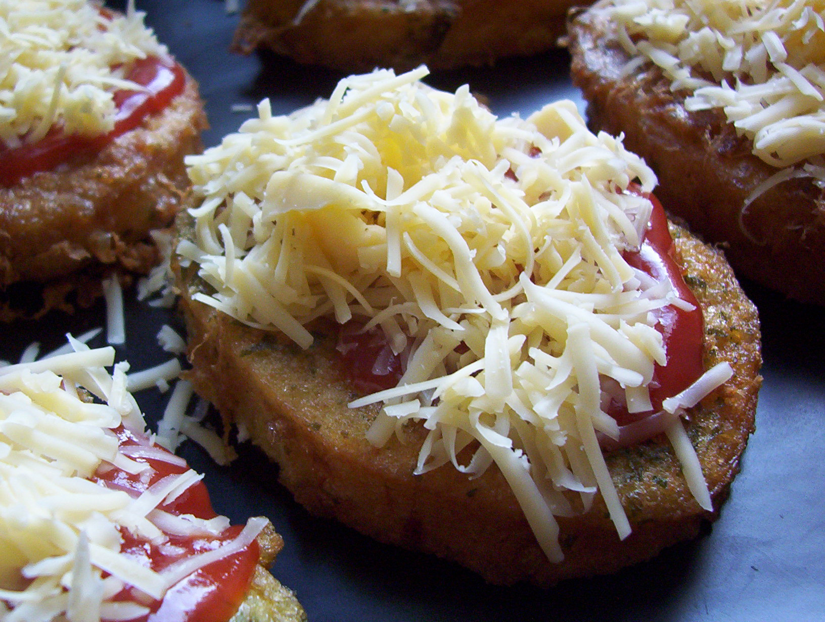 Vajíčková veka se sýrem -