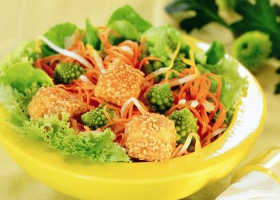 Salát Julienne s tofu