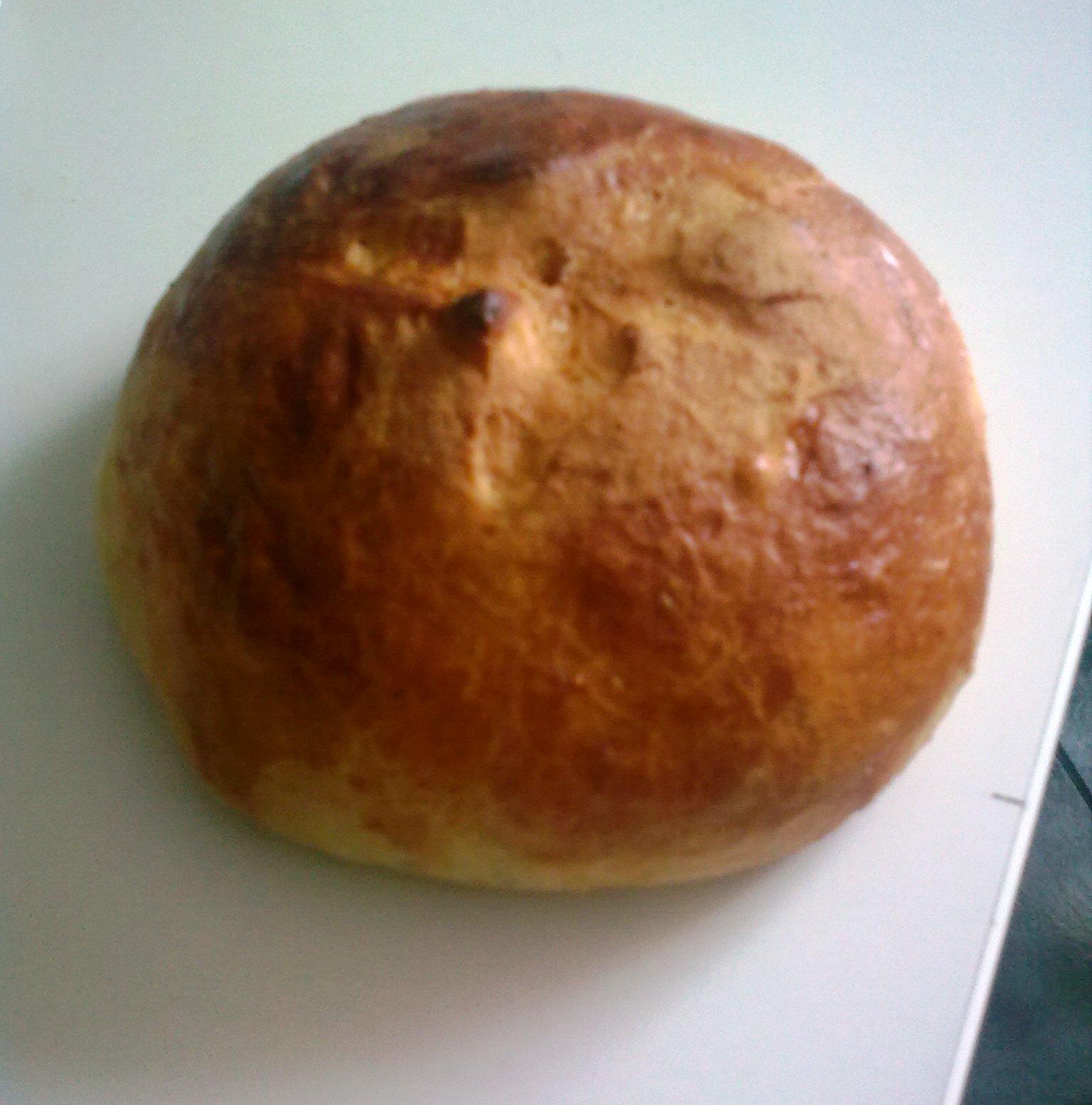 Mazanec hnětený v pekárně