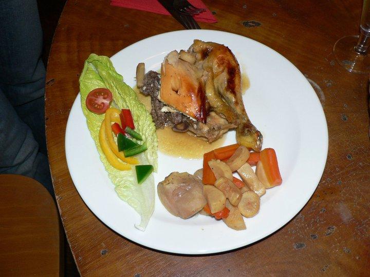 Kuře pečené na redukci ze cideru