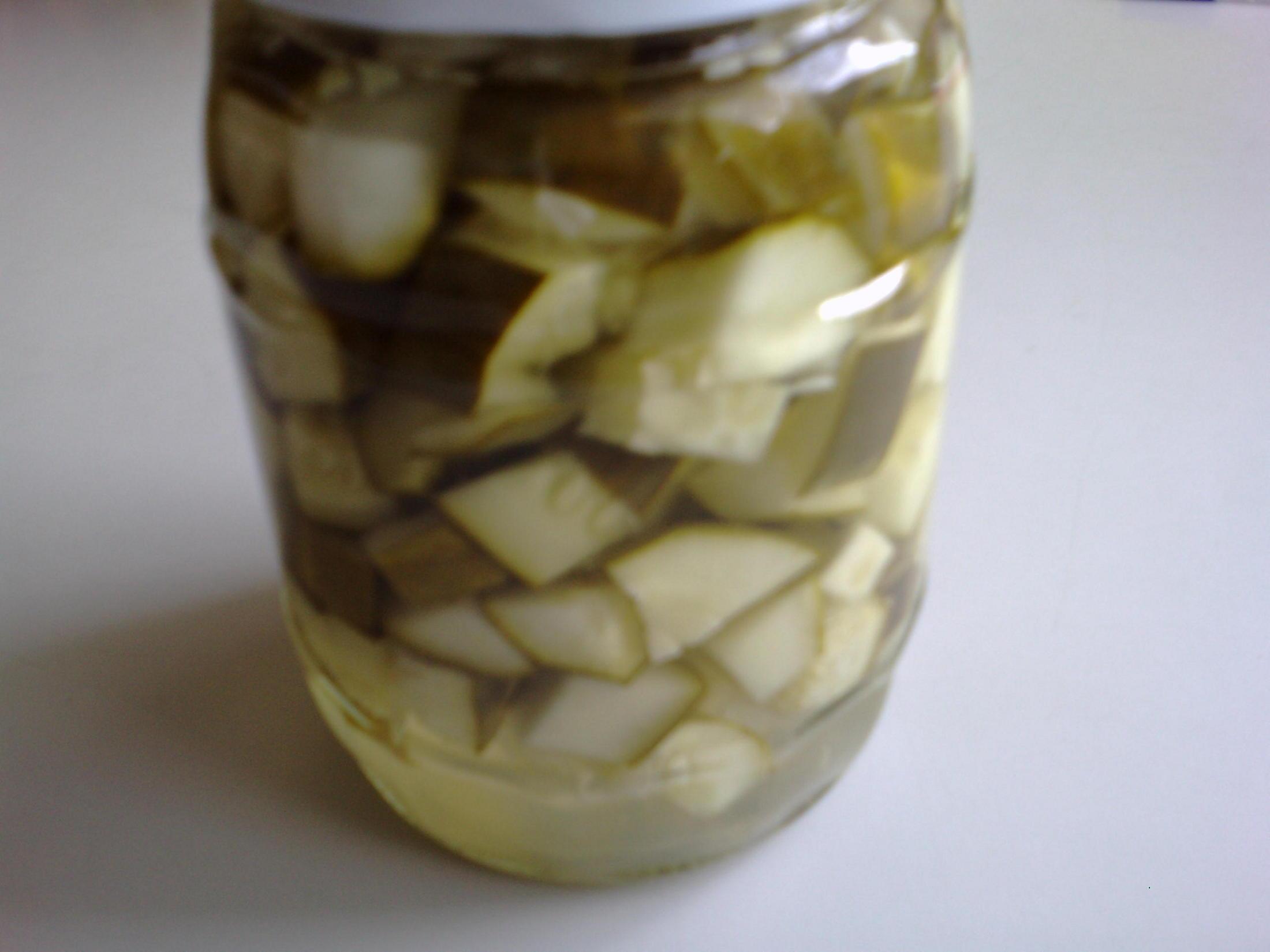Fotografie receptu: Sterilovaný salát z okurek