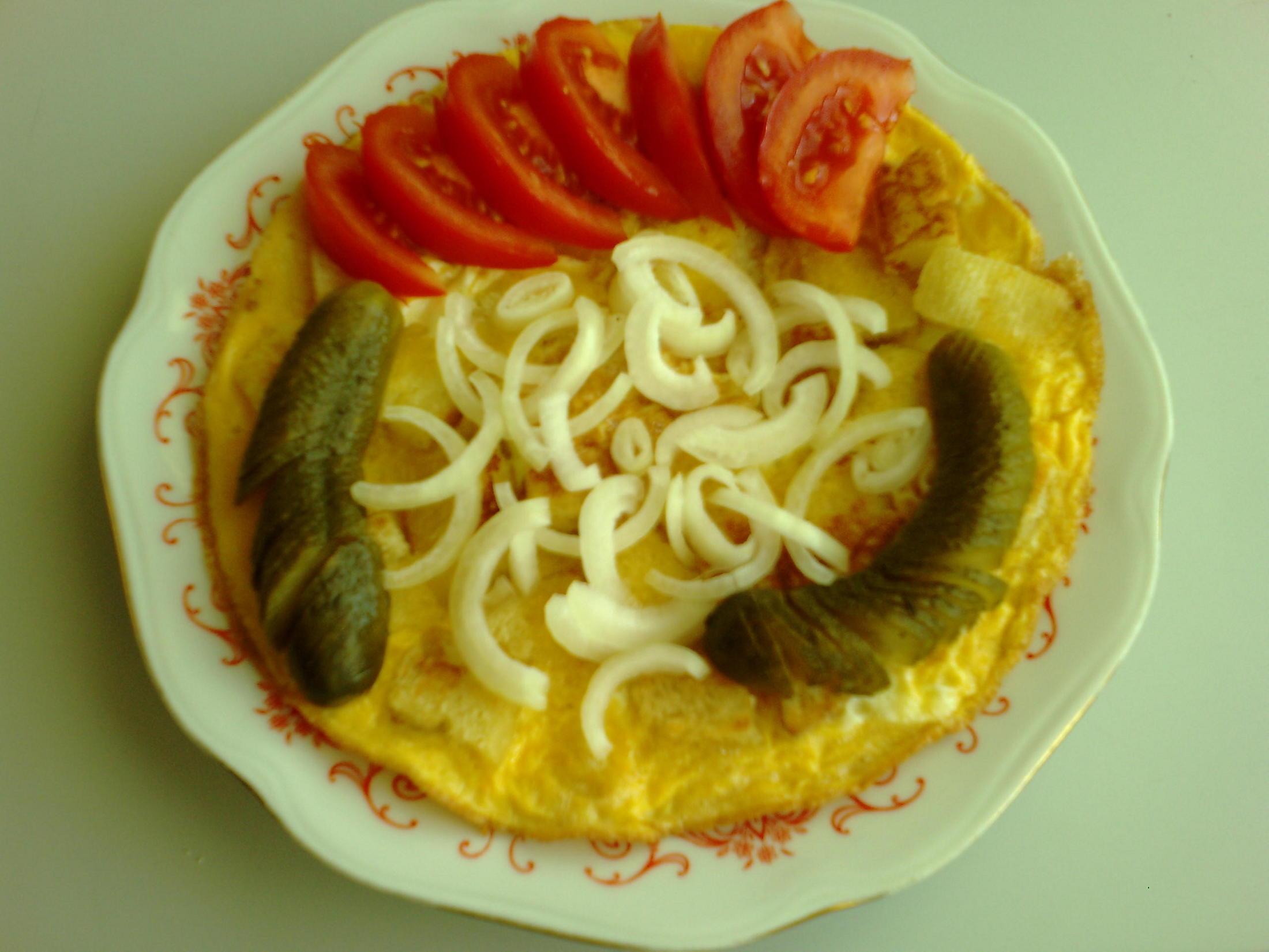 Fotografie receptu: Knedlík s vejcem
