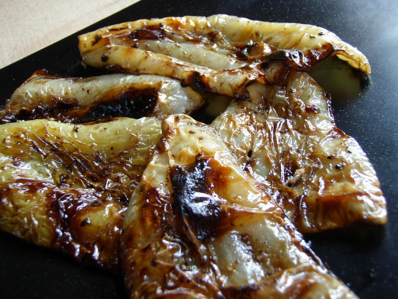Fotografie receptu: Grilované papriky