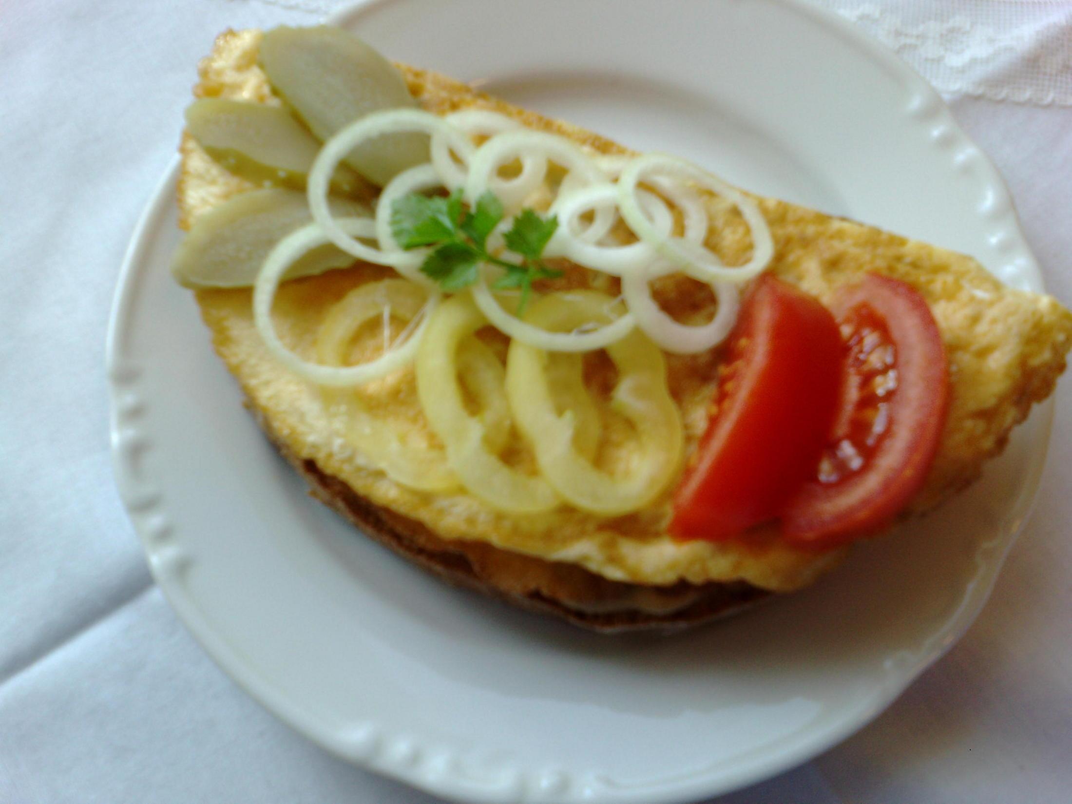 Fotografie receptu: Vaječná smaženka s chlebem
