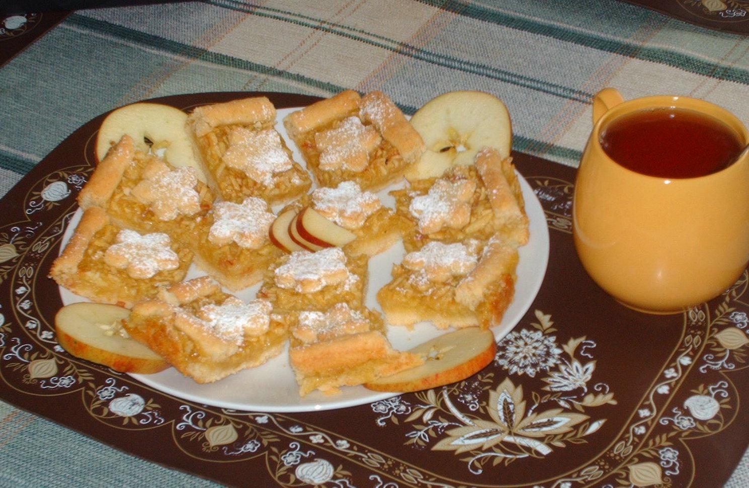 Kytičkové jablečné řezy