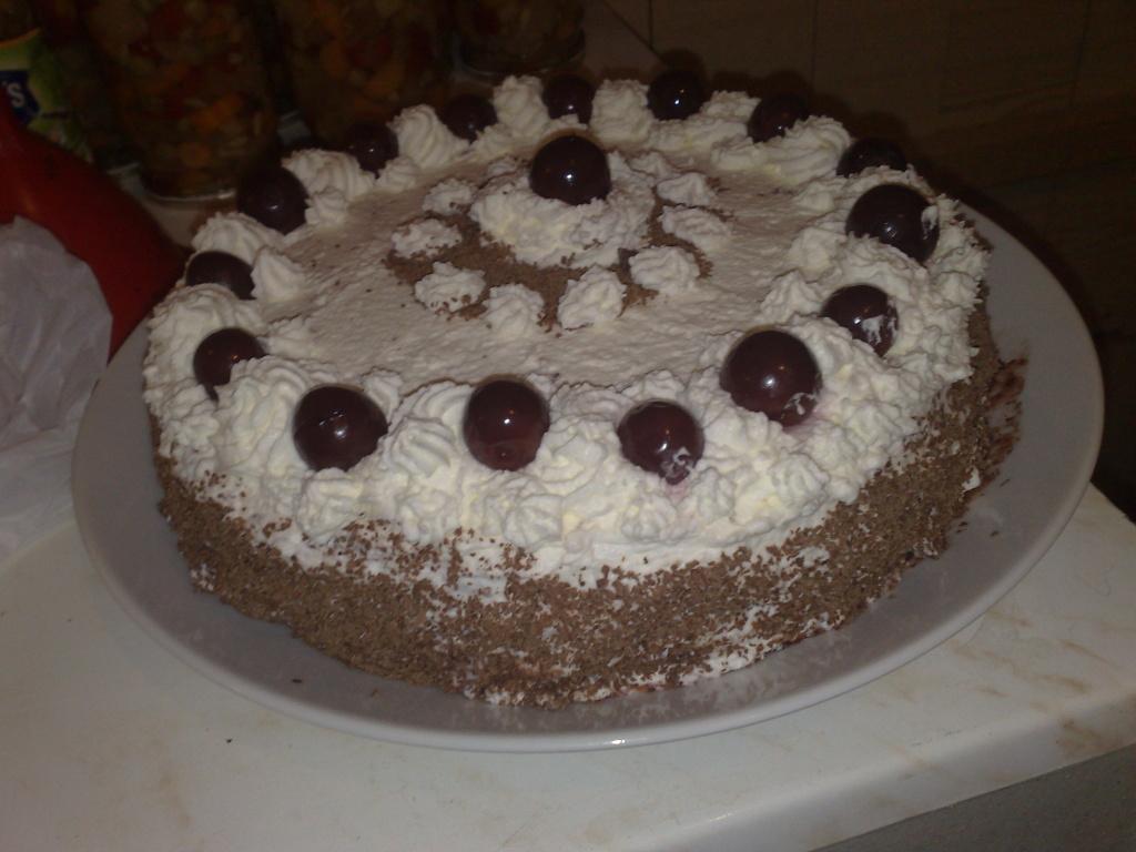Schwarzwaldský bezlepkový dort