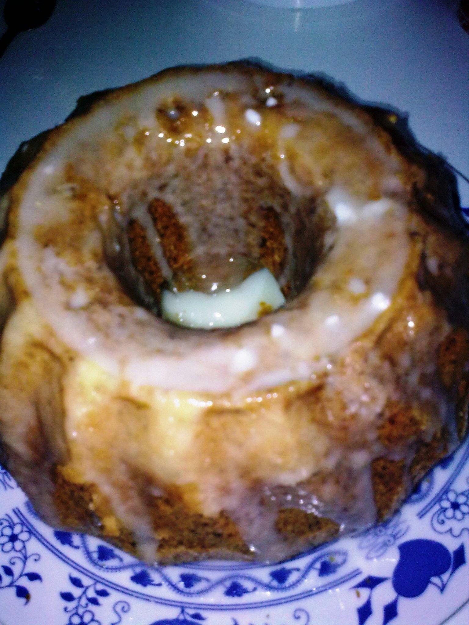 Fotografie receptu: Citronová bábovka s ořechy