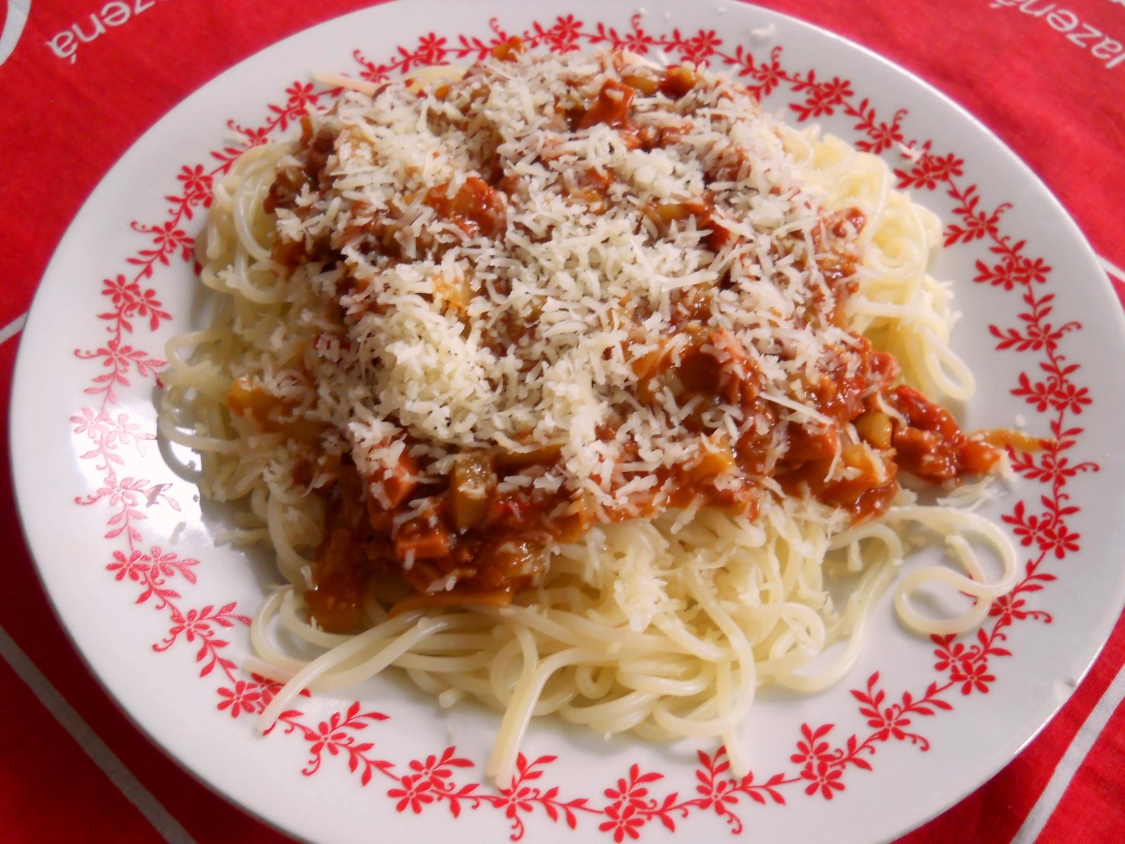 Trampské špagety