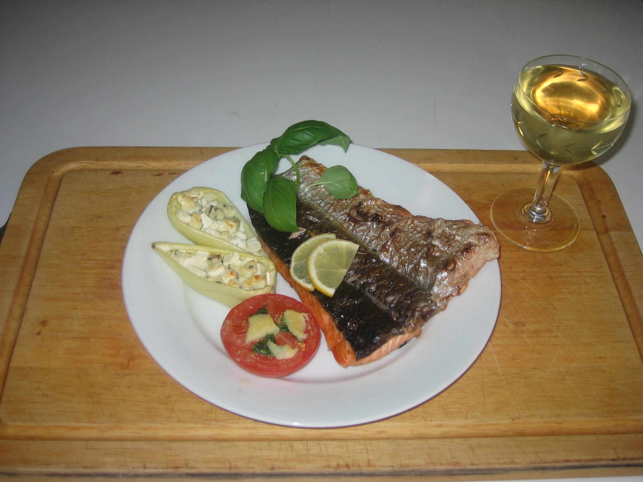Fotografie receptu: Losos na grilu