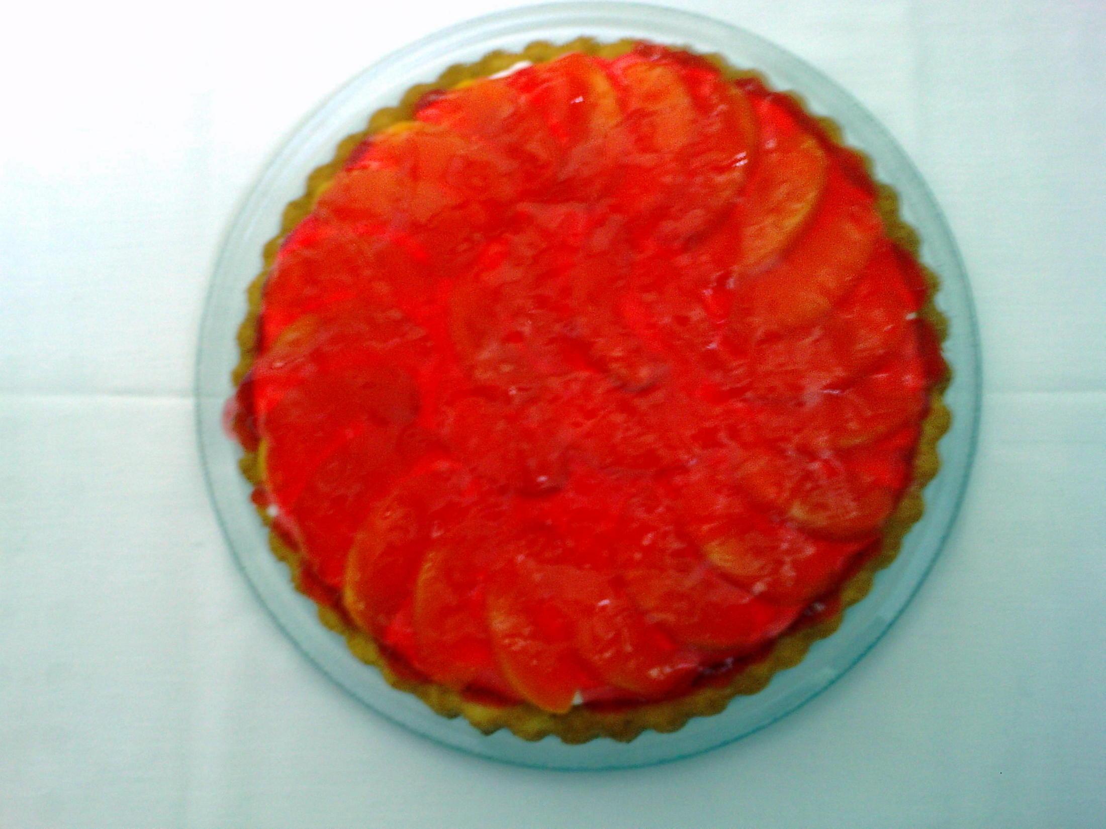 Ovocný dezert s korpusem