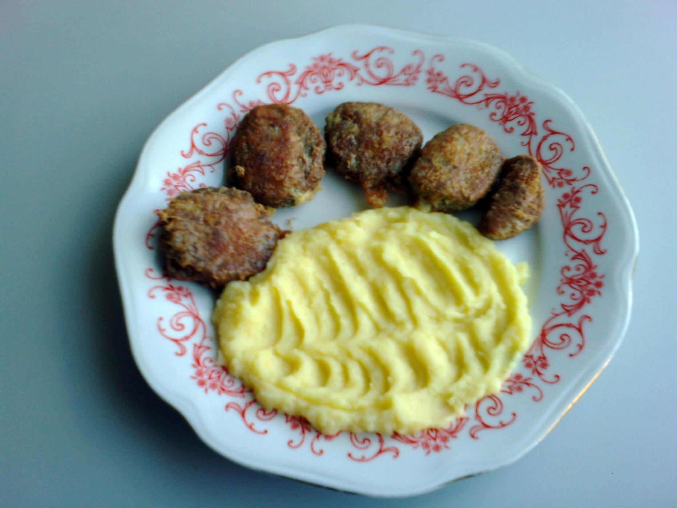 Fotografie receptu: Smažený vepřový jazyk