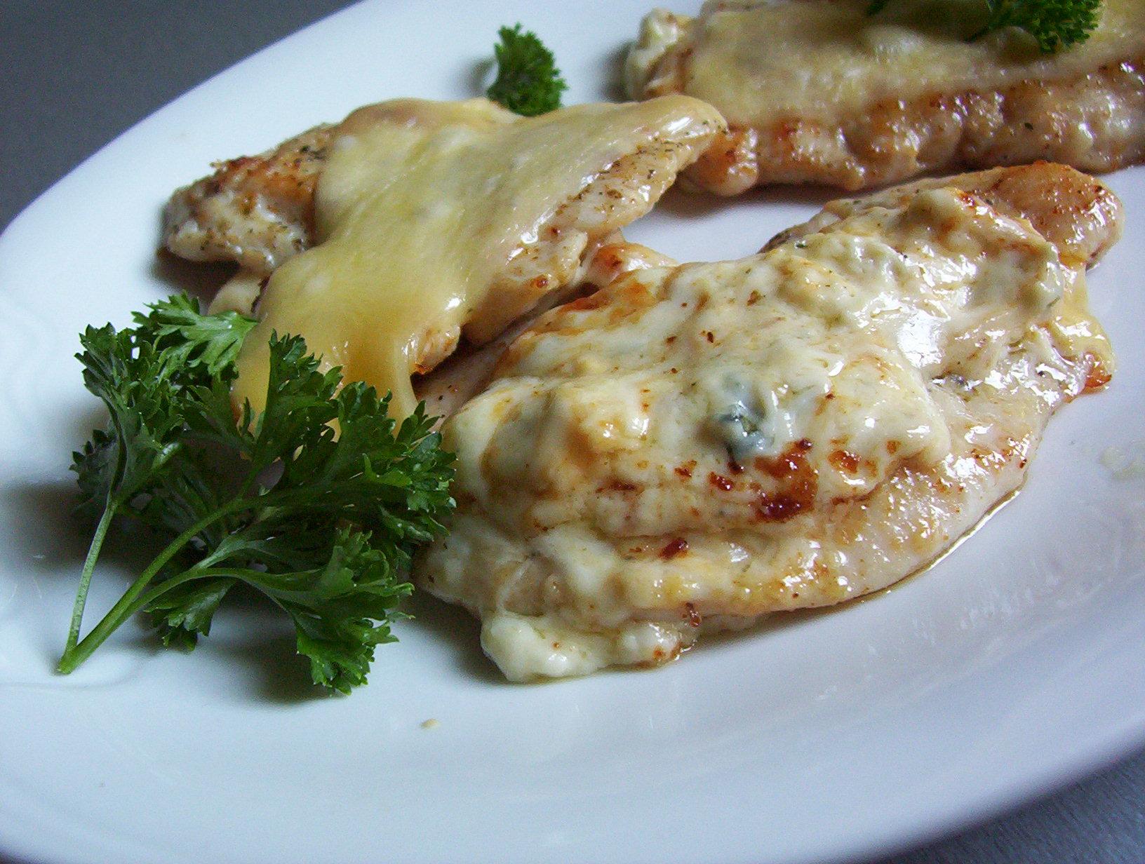 Kuřecí sýrový plátek