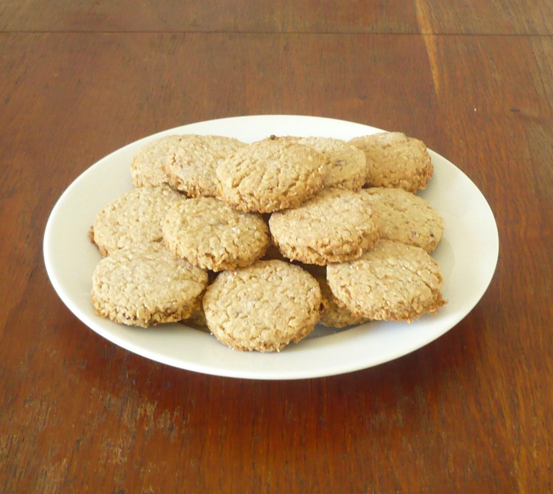Fotografie receptu: Lehké sušenky z ovesných vloček