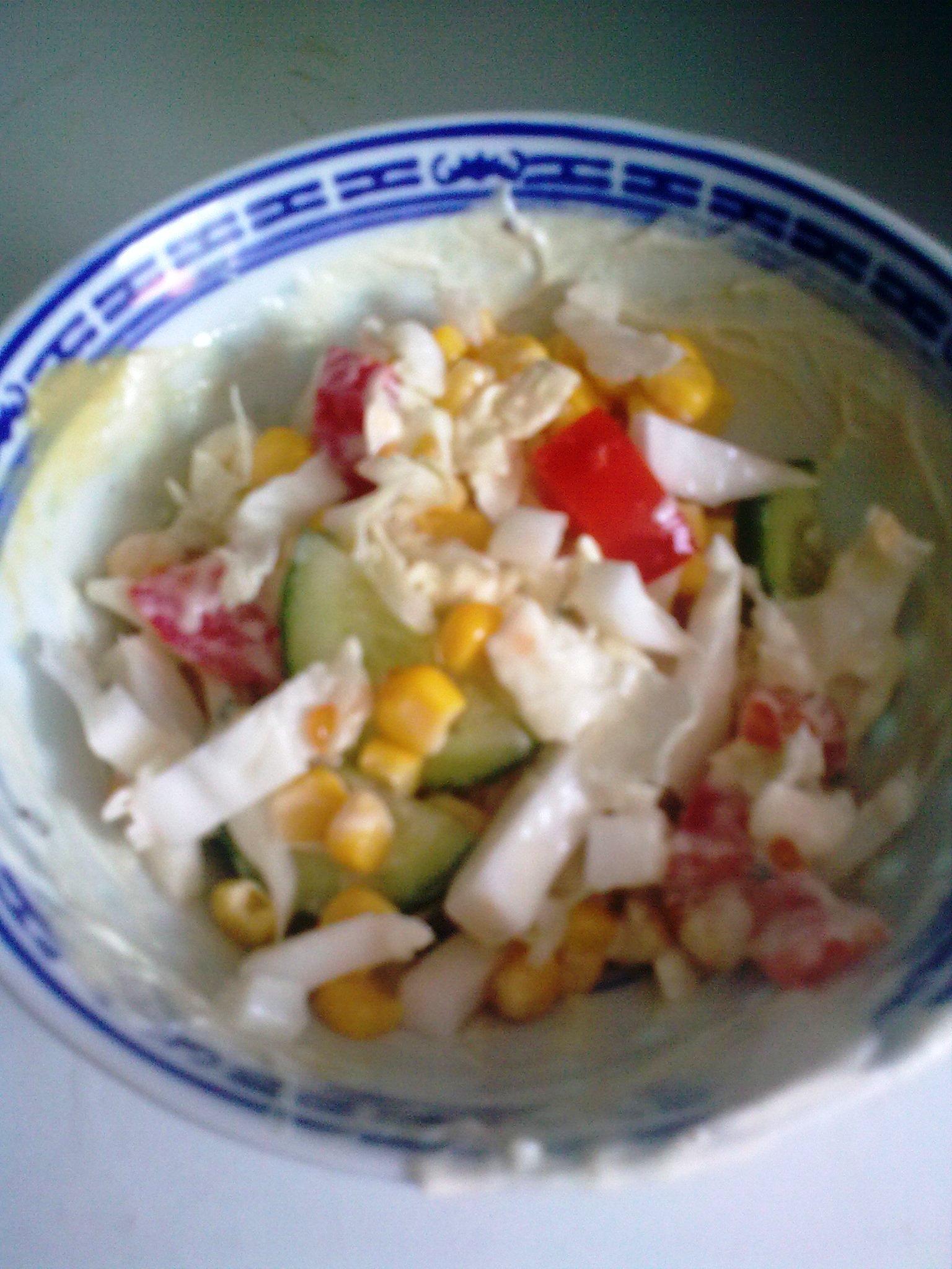 Salát z pekingského zelí se sýrem